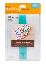 Cricut Cuttlebug BEING A BOY Embossables Pattern Folder and Icon Folder
