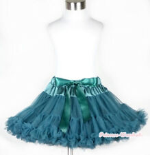 Teal Green Tutu Skirt Dance Party Dress Girl Adult Women Lady Full Pettiskirt