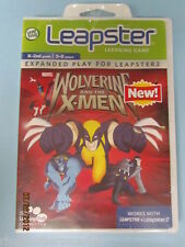 Leap Frog Leapster Leapster2 ~~~ WOLVERINE and the X-MEN ~~~ Ship WORLDWIDE NEW