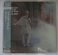 Janis Ian-The Secret Life of J. Eddy Fink + 1 GIAPPONE SHM MINI LP CD OBI NUOVO