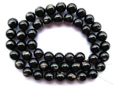 Natural Gleamy Hypersthene Round Beads 9mm15.5""