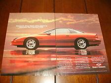 1994 CHEVROLET CAMARO Z28 ***ORIGINAL 2 PAGE AD***