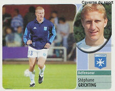 STEPHANE GRICHTING # SUISSE AJ.AUXERE AJA VIGNETTE STICKER  PANINI FOOT 2003