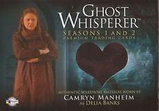 "Ghost Whisperer 1&2: GC-18 Camryn Manheim ""Delia Banks"" Costume Card"