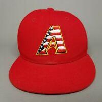 Arizona Diamondbacks New Era 59FIFTY USA Flag Logo Fitted Baseball Hat 6 3/4 Red