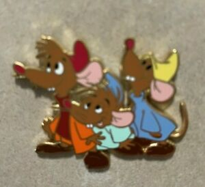 Disney Pin WDW Core Pin Three Mice from Cinderella Jaq Luke Mert or Bert Retired
