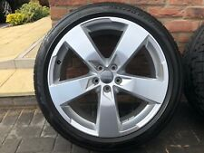 Genuine Audi 2020 S6 Wheels And Tyres Set Of 4 Only Covered 3000 Miles From New