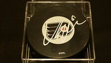 Vincent Lecavalier signed Philadelphia Flyers Official Autograph Puck COA!