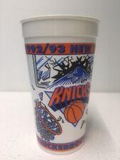 1992/93 New York Knicks Coca-Cola Plastic Cup