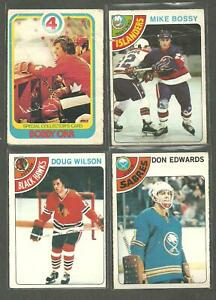 1978-79 O-PEE-CHEE OPC Hockey   lot starter  SET 375/396 CARDS BOBBY ORR