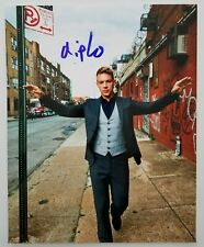 Diplo Signed 8x10 Photo DJ EDM Producer Music Major Lazer LEGEND RAD