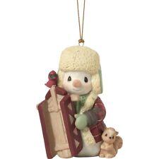 Precious Moments 10th Annual Snowman Ornament New 2019