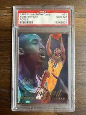 1996 Flair Showcase Kobe Bryant Rookie Card Row 2 #31 PSA 10 GEM MINT