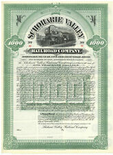 Schoharie Valley Railroad Company. Gold Bond Certificate