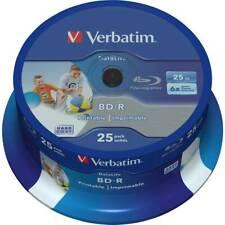 Blu-ray BD-R SL vierge Verbatim 43811 tour 25 pc(s) 25 Go imprimable,