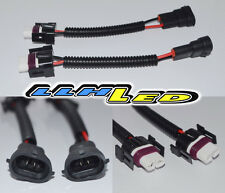 2 x H11 MALE/FEMALE SOCKET/CONNECTOR/ADAPTOR WIRE EXTENTION HEADLIGHTS