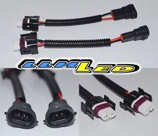 2PC H11 HEAVY DUTY MALE TO FEMALE CERAMIC SOCKET/PLUG/CONNECTORS/ADAPTOR