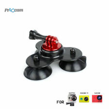Proocam Pro-F081 Low Angle sucker suction cup for Gopro Hero , SJCAM , MIYI