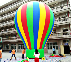 20x20x17 Commercial Inflatable Hot Air Balloon Advertising Tent Event Wedding