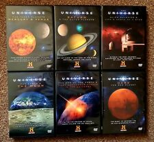 NEW The Universe DVD Set of 6 History Channel Dvds