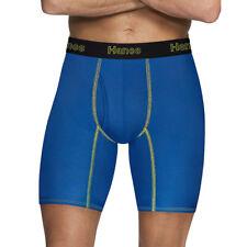 Hanes Men's Comfort Flex Fit Breathable Mesh Long Leg Boxer Briefs 3-pack 2xl
