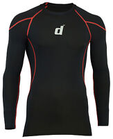 Mens Compression Base Layer Tight Fit Long Sleeve Gym Fitness Under Armour Shirt