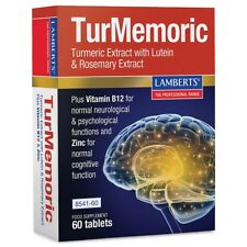Lamberts Turmemoric Turmeric Extract with Lutein & Rosemary Extract 60 Tablets