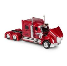 Custom Lorry HGV Unit Rig Red 1:64 Small Scale Die-cast Model Toy Vehicle