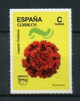 Spain 2017 MNH America UPAEP Tourist Places 1v S/A Set Flowers Tourism Stamps