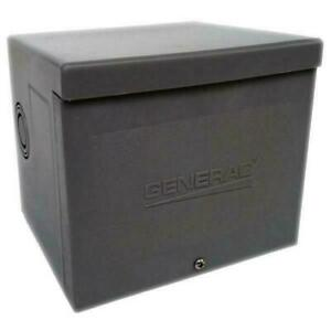 Generac 6338 50A Non-Metallic Power Inlet Box BN/S