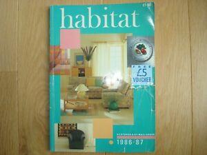 HABITAT CATALOGUE 1986/87 - VINTAGE / RETRO / CONRAN