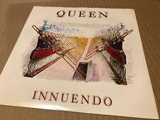 "Queen Innuendo 1991 Original Uk 7""ps With Promo Sticker"