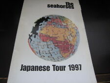 Seahorses 1997 Japan Tour Poster Style Concert Program Stone Roses John Squire