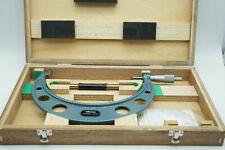 Mitutoyo 123-108 175-200mm 0.01 Mikrometer Bügelmessschraube Zahnweitenmessungen