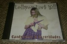 LOLLIPOP LUST KILL CD Candycanes and Razorblades CD Toledo Ohio metal band INDIE