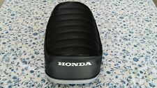 Honda(n10) atc70  best quality seat cover(PLEAT) Honda logo dyed  in white(H161)