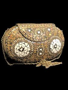 BEAUTIFUL ANCIENT COLOURED MOSAIC NEAR EASTERN SHOULDER BAG (2)