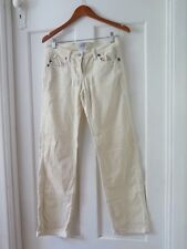 SASS & BIDE Sz 29 Cream Cord Jeans/Pants GC