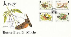 (68231) GB Jersey FDC Butterflies 1991