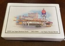 Slots of Fun casino Las Vegas playing cards vintage Factory sealed never opened
