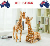 40'' Plush Giraffe Giant Doll Stand Toy Animal Soft Child Kid birthday for Gift