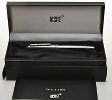 Montblanc Solitaire steel roller pen new unused perfect in box