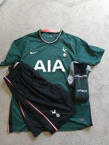 Tottenham Hotspur kit (shirt shorts socks) Men's Large 20/21 Away