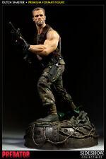 Predator Dutch schaefer premium formato estatua Sideshow aprox. 52cm (L)