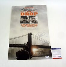 Dennis Lehane Author Signed Autograph The Drop Movie Poster PSA/DNA COA