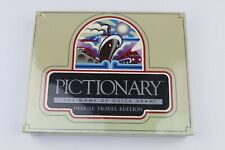 Pictionary Deluxe Travel Edition Board Game 1989