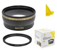 52mm Pro Series 0.43x Wide Angle Lens for Sony A5000 A5100 A6000 A6300 w/16-50mm