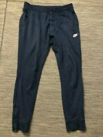 Nike Adult Mens Large French Terry Jogger Pants Blue 587597 473