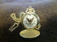 """Pocket Watch"""" With 15"""" Chain U. S Commemorative Gallery """"Presidential"""