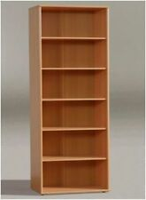 Beech Bookcases Furniture 5 Shelves